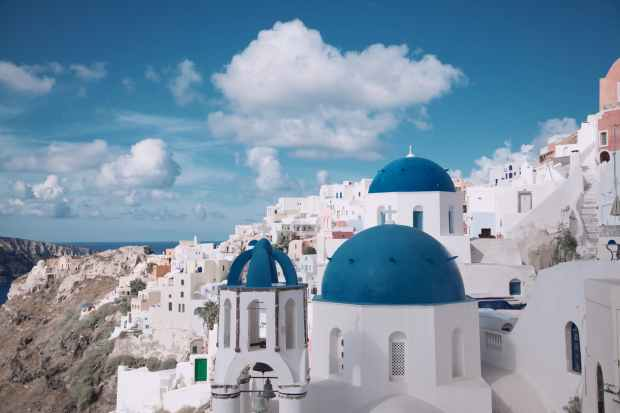 photo of santorini greece